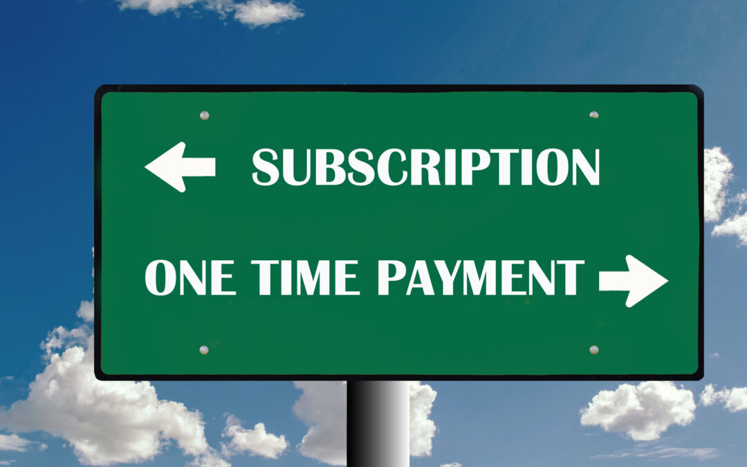 Subscriptions, a Gateway to Value Generation